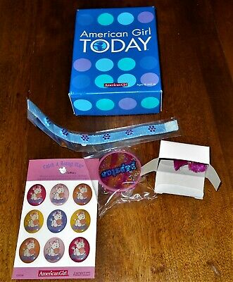 NIB American Girl Coconut's Tambourine Set - 2003 - Retired - NEW