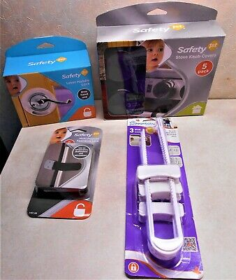 Lot of 4 Safety 1st Child Proofing  Covers / Locks