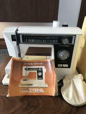 Janome Sewing Machine Excel 817 Operation Manual Used Antique Handmade