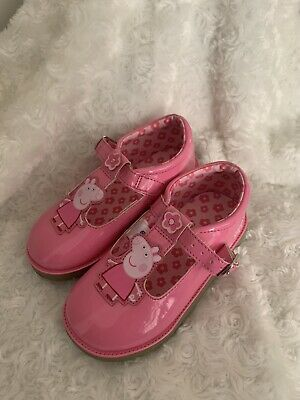 Girls Peppa Pig Shoes Pink Size Infant 8 Worn Once!