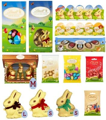 Easter Chocolate Eggs Bunny Lindt Lindor Easter Gift Treats For Kids Mini Eggs