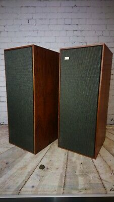 Lovely Pair Of B&O Beovox 1200 Speakers With Original Box Retro