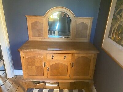 Beautiful Victorian Sideboard with Mirror Antique