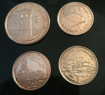 Selection Of Isle Of Man Coins