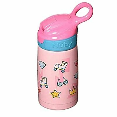 Nuby Stainless Steel Robo Cup 18m+ Pink
