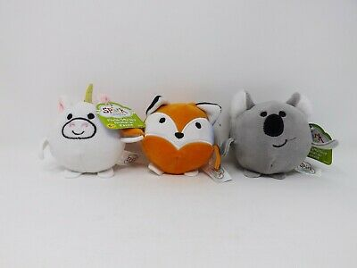 Spark Create Imagine Plush Squishy Animal With Rattle - New