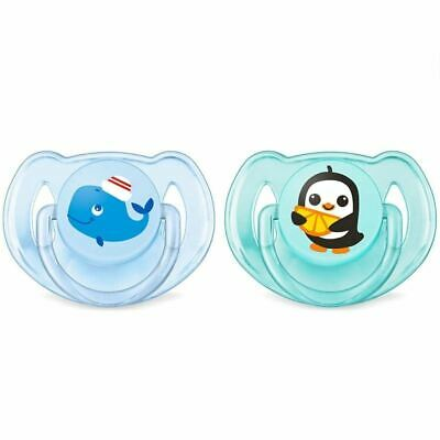 Philips Avent Soother 6-18 months - Penguin/Whale