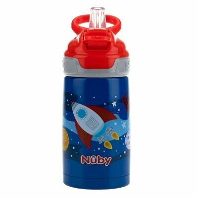 Nuby Stainless Steel Robo Cup 18m+ Blue