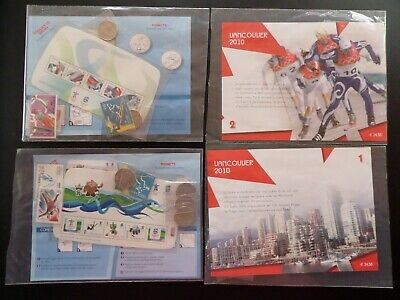 2396CANADA 2010 Vancouver Winter Olympics LOT MNH Stamps & Coins