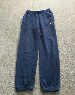 NIKE Blue Sports Trousers Casual Joggers Sweatpants 13-15 years 150-170 cms