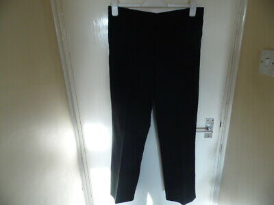 Boys Black school trousers age 15-16yrs waist 31.5inches 80cms