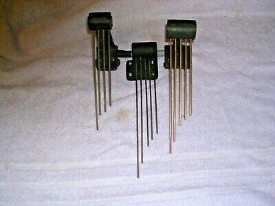 Clock  Parts, 3 Sets  Of  Chime  Bars