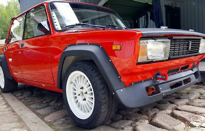 LADA VFTS Rally Bodykit fenders + lip widebody VAZ 2105 2107 Nova Riva