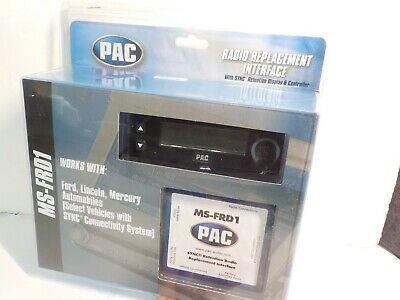 PAC MS-FRD1 RADIO REPLACEMENT STEREO SYNC RETENTION INTERFACE REPLACEMENT WIRING