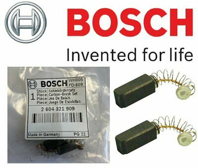 BOSCH 2604321909 Carbon Brushes (VERSION To Fit: PSB 400 RET Percussion Drill)