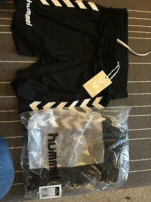 PE Shorts Age 10-12 Years Sports New Hummel Black Boys Core Football