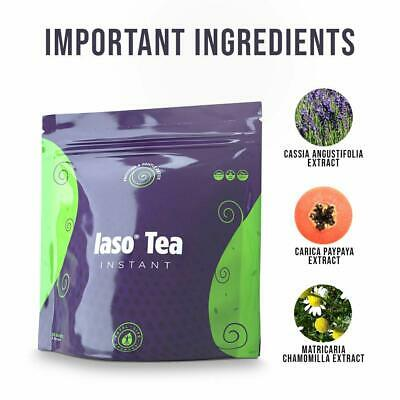 Iaso Tea 25 Single Serve Packets(The Original) INSTANT-  Diet Weight Loss TLC