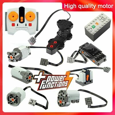 Technic parts motor compatible LEGOInglys CITY multi power functions tool servo