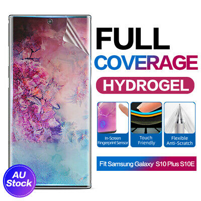 Samsung Galaxy S10 S9 Plus Note 10 9 5G HYDROGEL Full Coverage Screen Protector