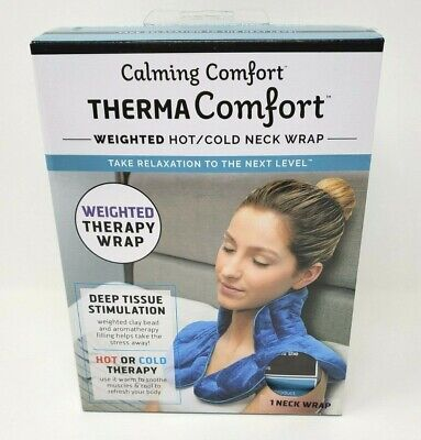 Therma Comfort Weighted Hot/Cold Neck Wrap Deep Pressure Stimulation
