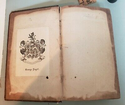 1768  Book Account of Corsica Pascal Paoli, b James Boswell, with Map