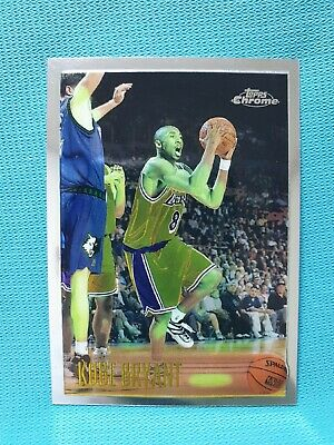 1996-97 Topps Chrome #138 Kobe Bryant Rookie Rc Card La Lakers Legend J5