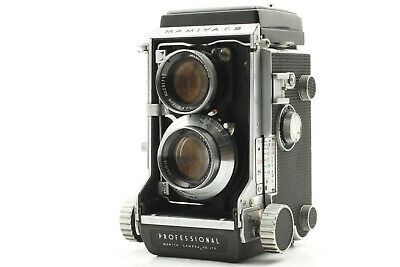 [ EXC+++ ] Mamiya C3 Pro TLR Camera w/ Mamiya-Sekor 80mm f/2.8 Lens from JAPAN