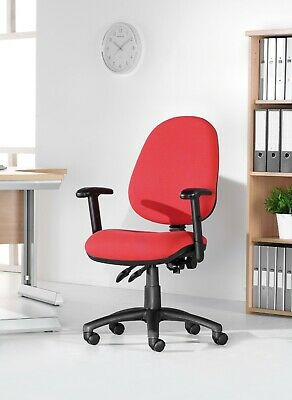 Operators Office Chair Task Chair Computer Seating 2 Lever Fabric 4 colours