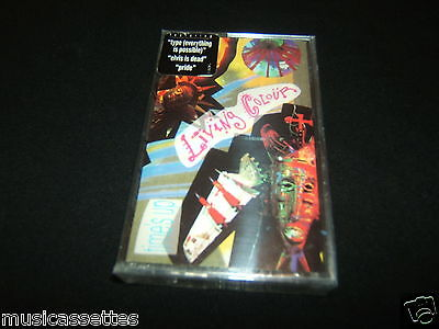 Living Colour Time's Up Usa Cassette Tape Factory Sealed Living Color