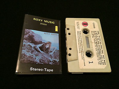 Roxy Music Siren New Zealand Cassette Tape