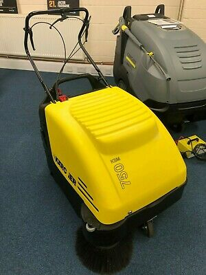 Karcher KM 750 Vacuum Sweeper battery operated floor cleaner self propelled