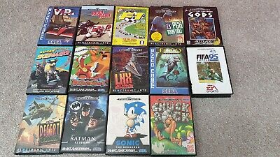 Job Lot Collection - Sega Mega Drive Games x14 - Boxed With Manuals PAL