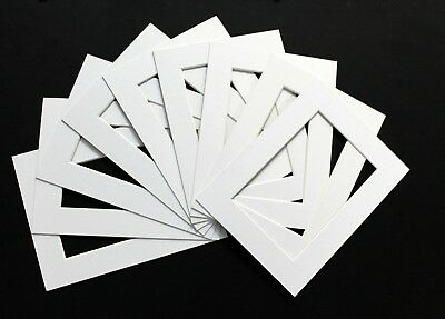 """Pack of 20 Photo , Picture Mount , Frame Mounts - Various colours 7"""" x 9"""""""