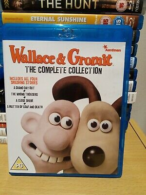 Wallace & Gromit The Complete Collection Blu Ray UK Release