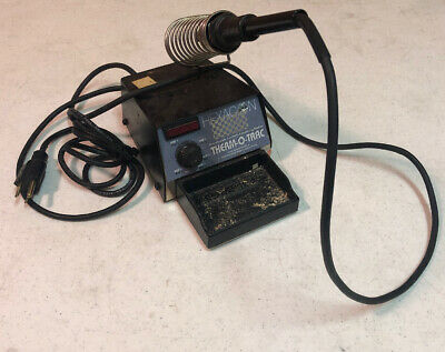 Hexacon TOT-1002 Therm-O-Trac Temperature Controlled Soldering Station