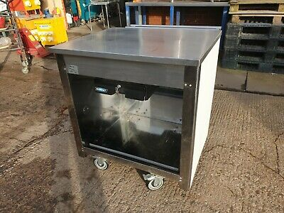 Moffat Stainless Steel Mobile Counter / Servery / Stand