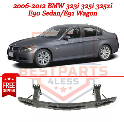 Bumper Reinforcement compatible with BMW 3-Series 06-12 Front Sedan//Wagon Steel Primed