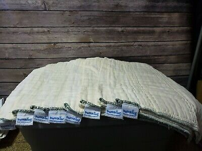 Bumkins cloth diaper insert lot 8 pieces 19'' by 14'' 100 % Cotton
