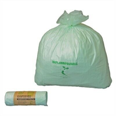 Jantex Small Compostable Caddy Liners 10Ltr (Pack of 24) (Pack of 24) GK890 [2EO