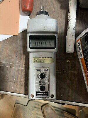 Shimpo DT-107A Handheld Contact Tachometer