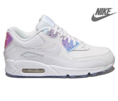 NIKE AIR MAX 90 PRM Iridescent Hologram Mirror MultiColor