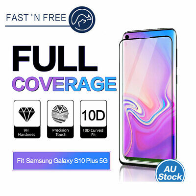 Samsung Galaxy Note S9 S10 E Plus 5G Full Cover Tempered Glass Screen Protector