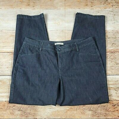 Lee Relaxed Straight Leg Pants Jeans Women's Plus Size 16W Medium Stretch