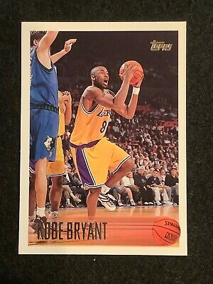 KOBE BRYANT 96-97 Topps #138 ROOKIE CARD RC Los Angeles Lakers NM-MT MAMBA 4EVER