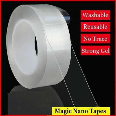 Magic Tape Double Sided Gel Grip Multifunction Transparent Adhesive Nano Tapes