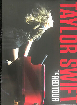 Taylor Swift the Red Tour VIP Book and Concert Ticket Souvenir