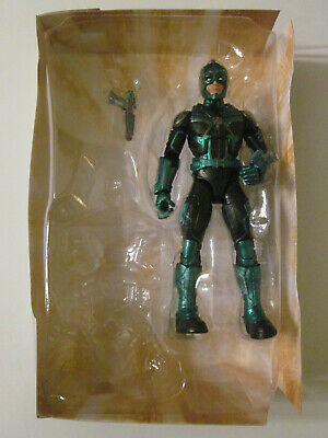 "Marvel Legends 6/"" Inch Kree Sentry BAF Wave Captain Yon Rogg Loose Complete"
