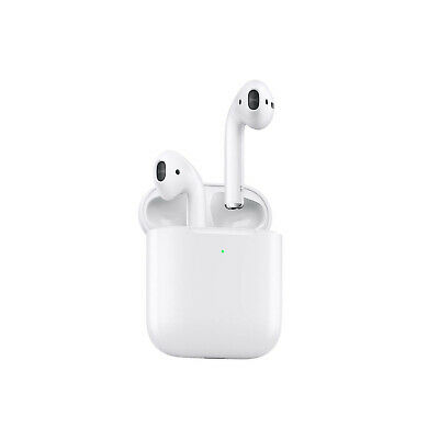 Apple AirPods 2 2nd Generation With Wireless Charging Case - Free UK Delivery