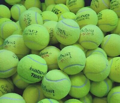 Used Tennis Balls. 4 6 8 or 10. VERY GOOD CONDITION. Branded Balls. Games / Dogs