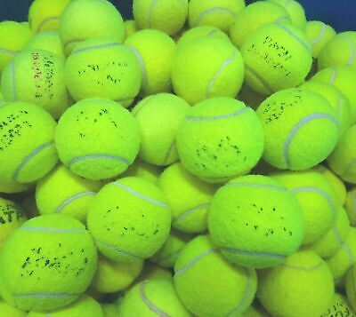 Used Tennis Balls - 4 6 8 or 10. GOOD CONDITION. Branded Balls. Games / Dog Toy